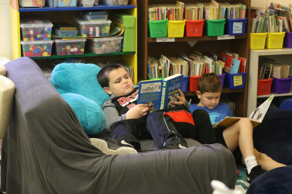 A student at Mocksville Elementary School in Davie County. Liz Bell/EducationNC